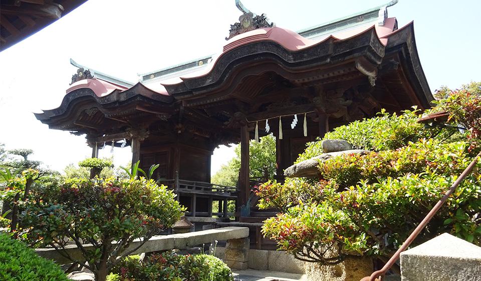本殿(祇園宮と長浜宮)