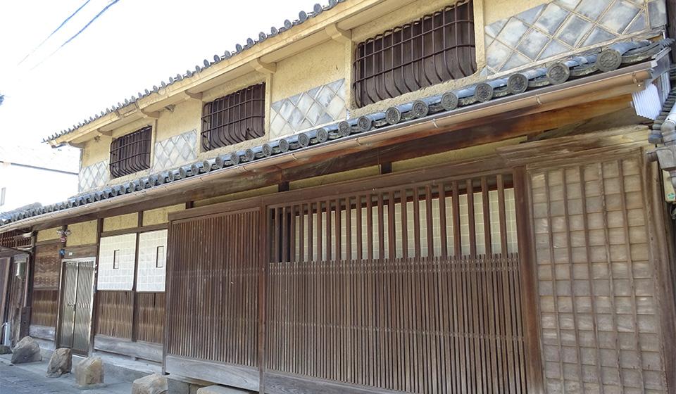 高松屋の屋号を持つ旧家